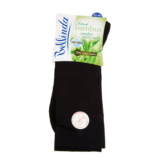 Socken ohne Gummi bellinda, Schwarz, 919-6264 - 13