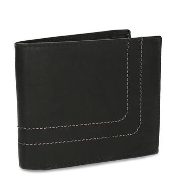 Herren-Geldbörse aus Leder bata, Braun, 944-6147 - 13