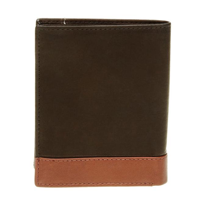 Herren-Geldbörse aus Leder bata, Schwarz, 944-6150 - 26