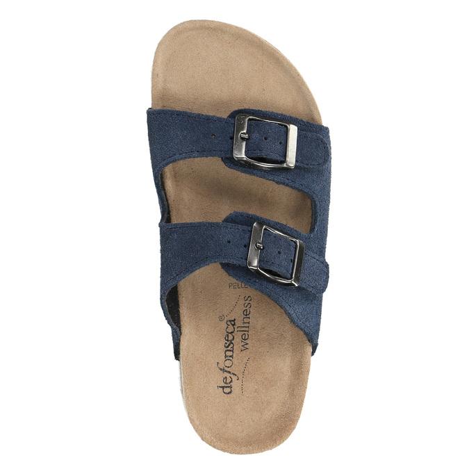 Blaue Pantoffeln für Kinder de-fonseca, Blau, 373-9600 - 19