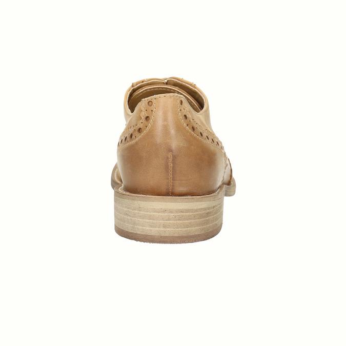 Oxford-Schuhe aus Leder mit Brogue-Verzierung bata, Braun, 524-3482 - 17