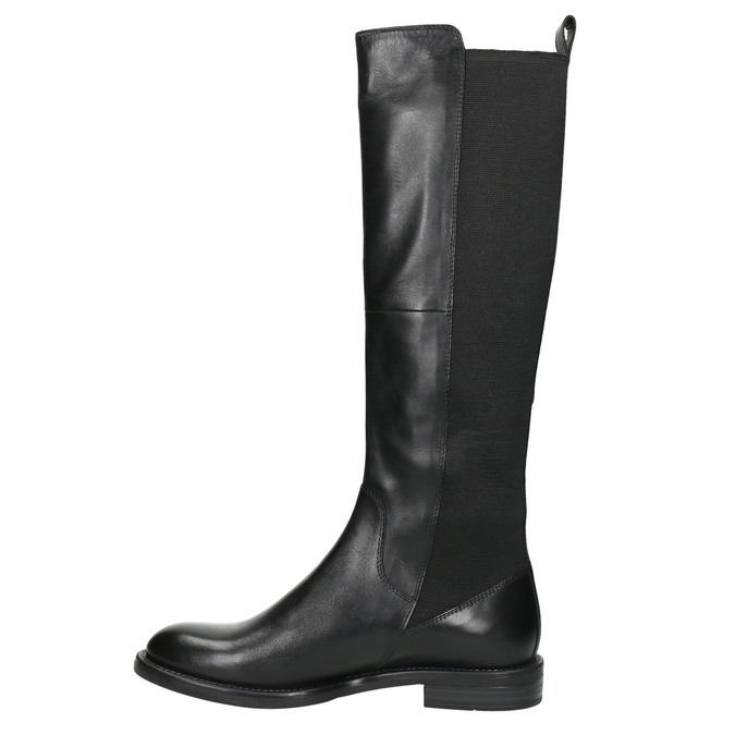 Damenstiefel aus Leder vagabond, Schwarz, 594-6003 - 26