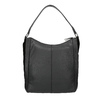 Schwarze Hobo-Bag aus Leder bata, Schwarz, 964-6254 - 19
