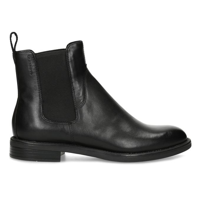 Schwarze Chelsea Boots aus Leder vagabond, Schwarz, 514-6007 - 19