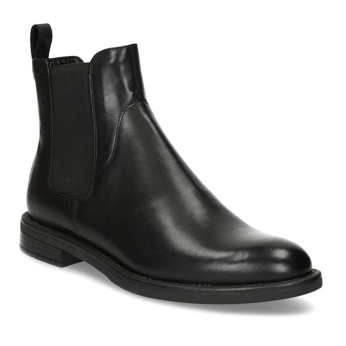 Schwarze Chelsea Boots aus Leder vagabond, Schwarz, 514-6007 - 13