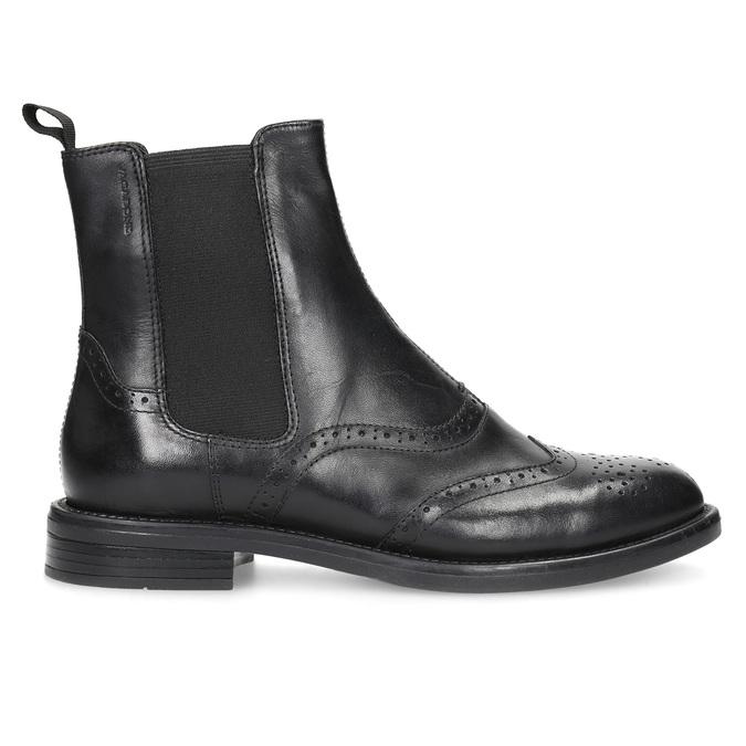 Chelsea Boots aus Leder mit Verzierung vagabond, Schwarz, 514-6002 - 19