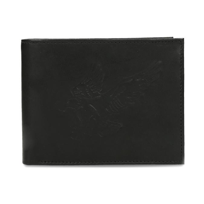 Herren-Geldbörse aus Leder bata, Schwarz, 944-6171 - 26