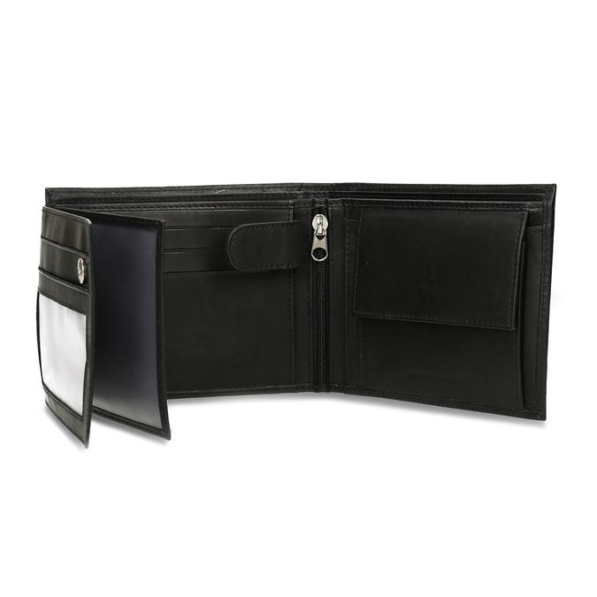 Herren-Geldbörse aus Leder bata, Schwarz, 944-6171 - 15