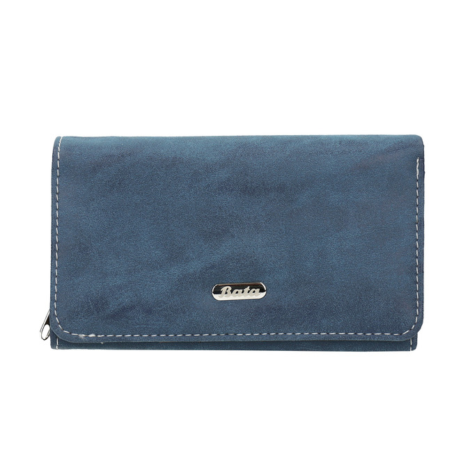 Blaue Damen-Geldbörse, Blau, 941-9153 - 26