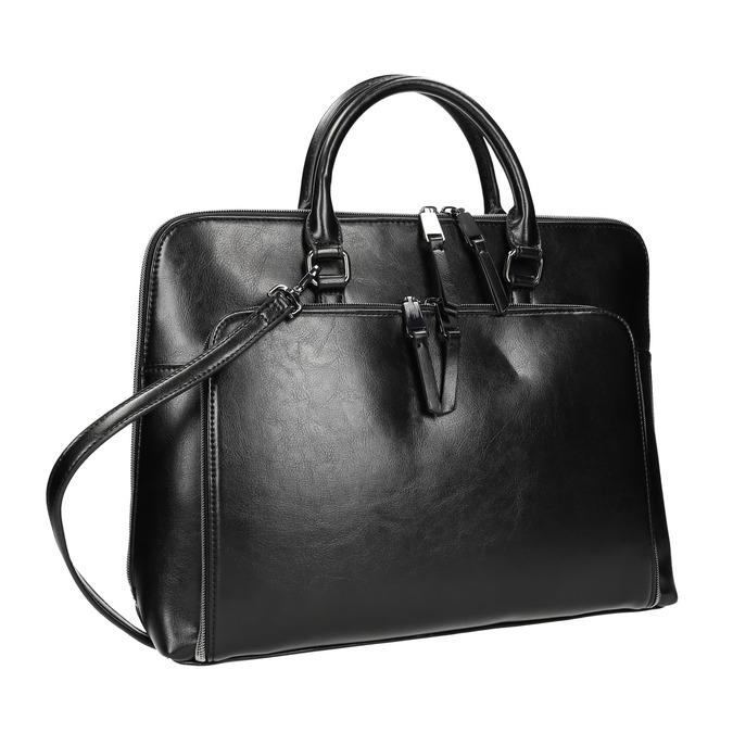 Elegante Tasche zum Tragen in der Hand bata, Schwarz, 961-6882 - 13