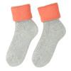 Thermosocken für Damen, Grau, Orange, 919-5380 - 26