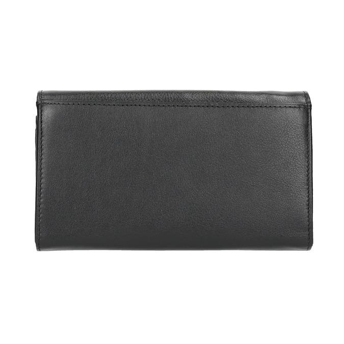 Damen-Geldbörse aus Leder bata, Schwarz, 944-6357 - 19