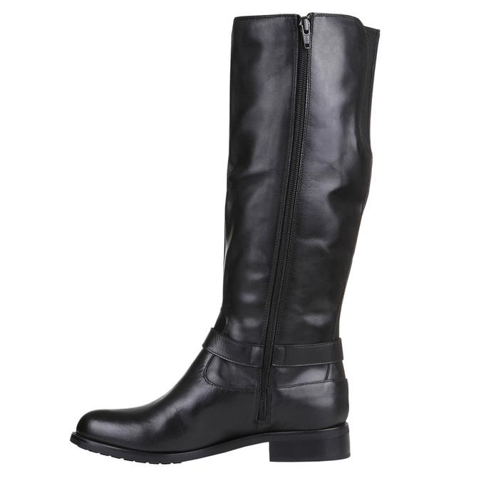 Knöchelhohe Damen-Sneakers bata, Schwarz, 594-6659 - 15