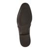 Braune Halbschuhe aus Leder bata, Braun, 824-4754 - 26