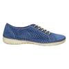 Sneakers aus Leder weinbrenner, Blau, 546-9238 - 15