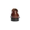 Lederhalbschuhe im Oxford-Stil mit Brogue-Verzierung bata, Braun, 826-3811 - 17