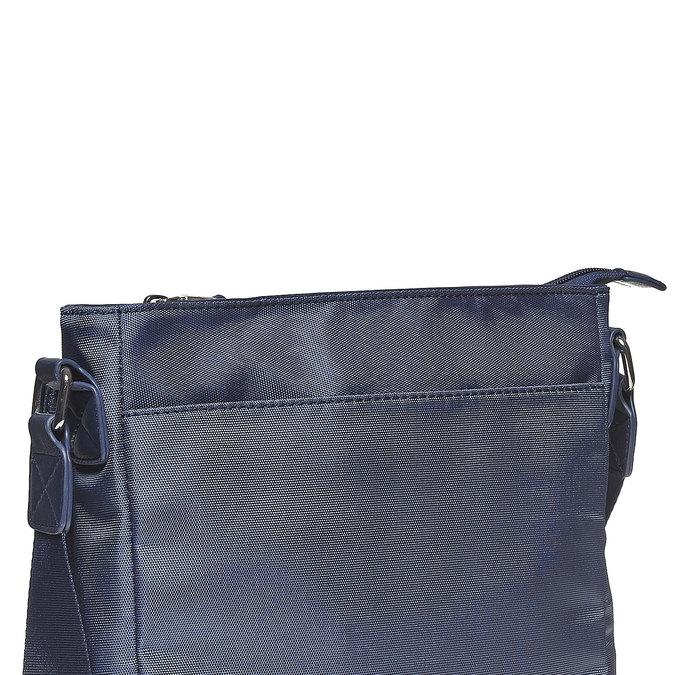 Herrentasche im Crossbody-Stil bata, Blau, 961-9508 - 17