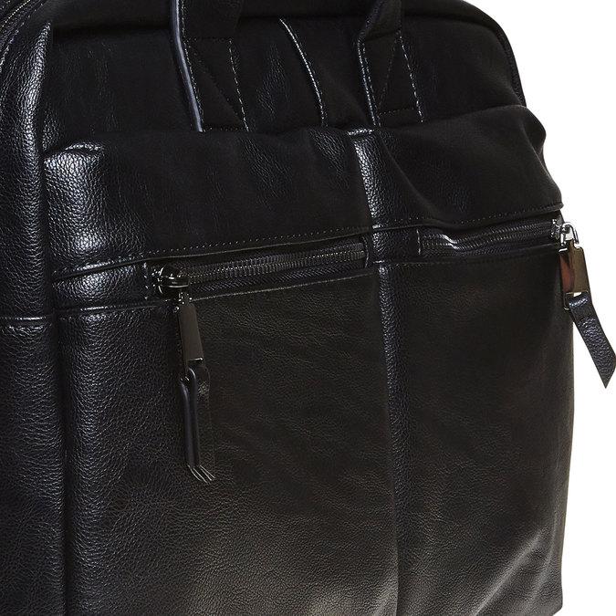 Schwarze Tasche bata, Schwarz, 961-6521 - 17
