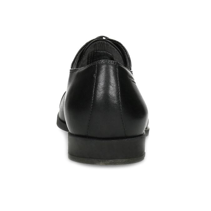 Schwarze Lederhalbschuhe im Oxford-Stil vagabond, Schwarz, 824-6048 - 15