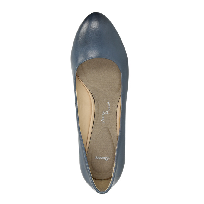 Pumps mit stabilem Absatz pillow-padding, Blau, 626-9637 - 19
