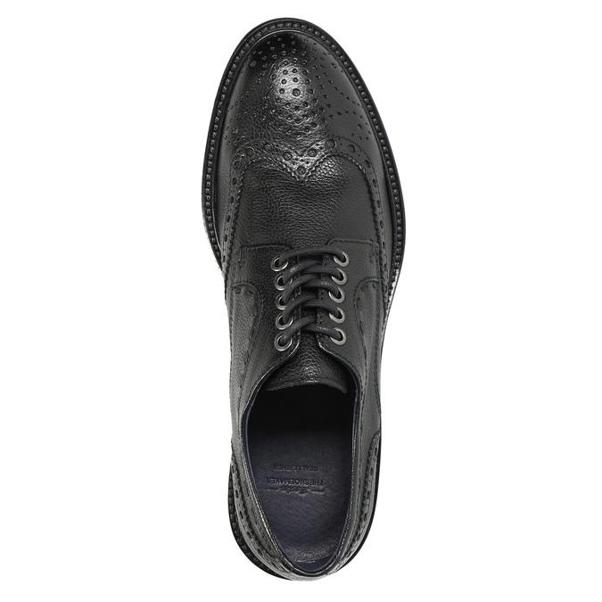 Lederhalbschuhe für Herren bata-the-shoemaker, Schwarz, 824-6292 - 19