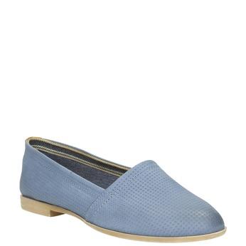 Damen Slip-Ons bata, Blau, 516-9602 - 13
