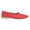 Rote Slip-Ons aus Leder bata, Rot, 516-5602 - 15