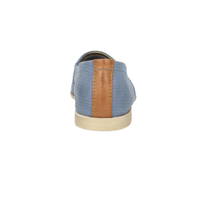 Damen Slip-Ons bata, Blau, 516-9602 - 17