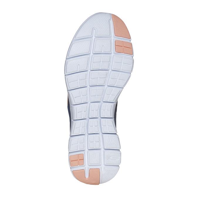 Sportliche Damen-Sneakers skechers, Blau, 509-9963 - 26