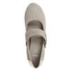 Lederpumps der Weite H bata, Grau, 623-2600 - 15