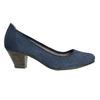 Lederpumps der Weite H bata, Blau, 623-9602 - 15
