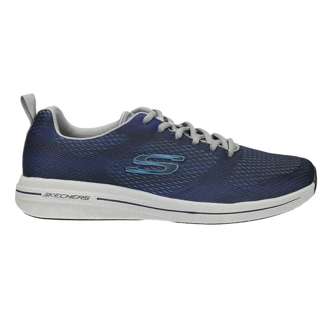 Herren-Sneakers mit Memory-Schaum skechers, Blau, 809-9141 - 15