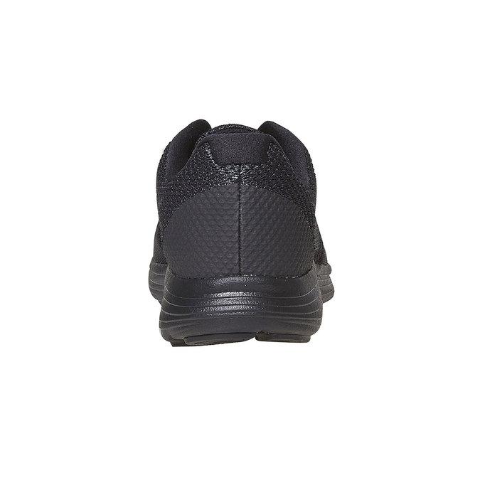 Schwarze, sportliche Herren-Sneakers nike, Schwarz, 809-6149 - 17