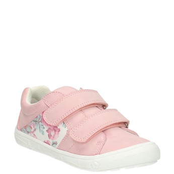 Kinder-Sneakers mit Blumenmotiv mini-b, Rosa, 221-5605 - 13