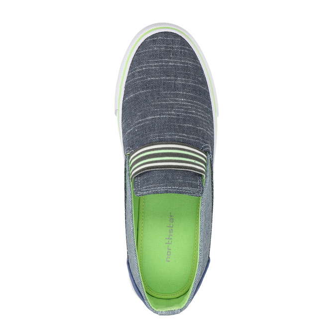 Kinder-Slip-Ons north-star-junior, Blau, 419-9612 - 19