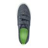 Kinder-Sneakers mit Klettverschluss north-star-junior, Blau, 419-9611 - 19