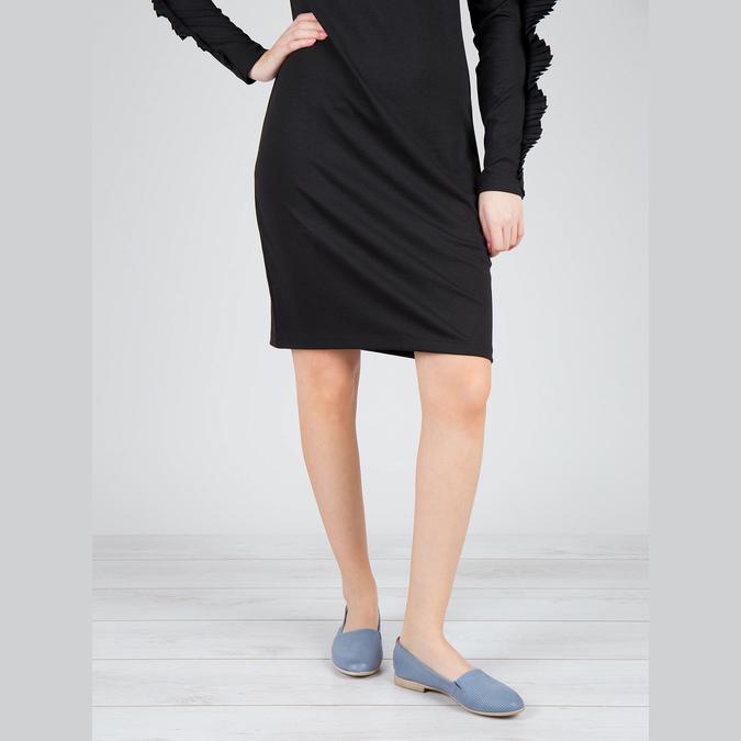 Damen Slip-Ons bata, Blau, 516-9602 - 18