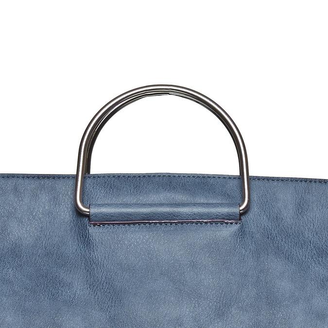 Blaue Damenhandtasche bata, Blau, 961-9327 - 19