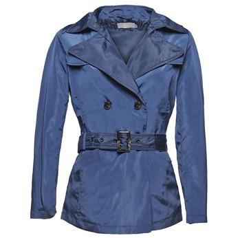 Blauer Damen-Trenchcoat bata, Blau, 979-9205 - 13