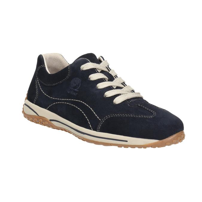Damen-Sneakers aus Leder gabor, Blau, 626-9205 - 13