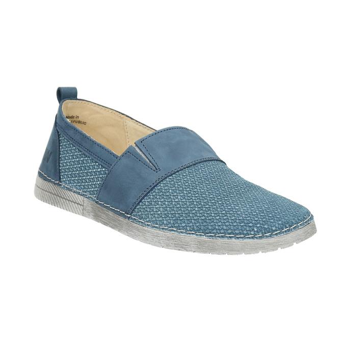 Blaue Slip-Ons weinbrenner, Blau, 513-9263 - 13