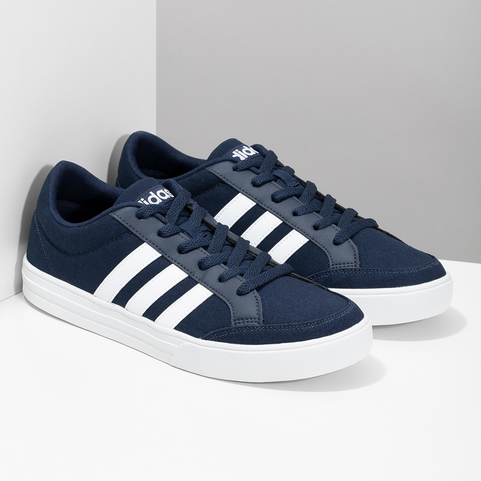 Legere Herren-Sneakers adidas, Blau, 889-9235 - 26