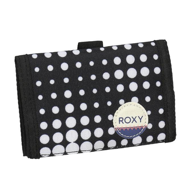 Textil-Geldbörse mit Pünktchen roxy, 969-0056 - 13