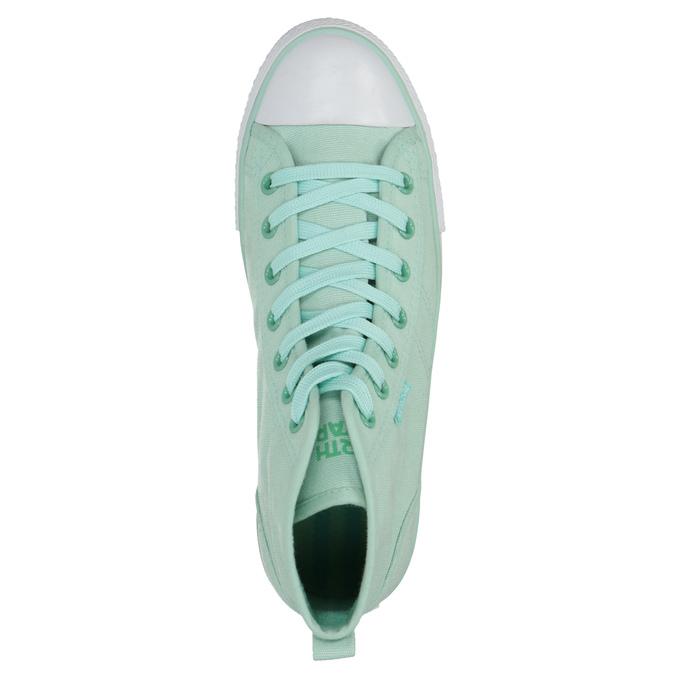 Knöchelhohe Sneakers in Minttürkis north-star, türkis, 589-7442 - 19
