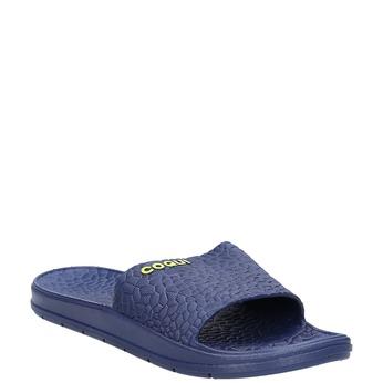 Blaue Herrenpantoletten coqui, Blau, 872-9619 - 13