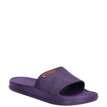 Violette Damenpantoletten coqui, Violett, 572-9609 - 13