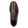 Knöchelschuhe aus Leder fluchos, Braun, 824-4450 - 26