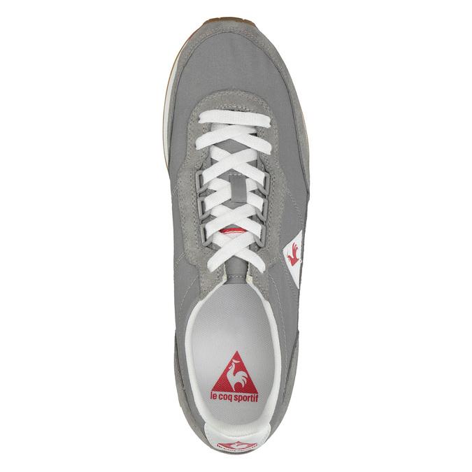 Graue Herren-Sneakers mit markanter Sohle le-coq-sportif, Grau, 809-2272 - 19
