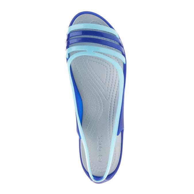 Damen-Sandalen crocs, Blau, 571-9014 - 19