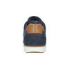 Knöchelhohe Sneakers aus Leder bata, Blau, 846-9641 - 17